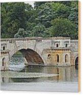 Vanbrughs Grand Bridge Wood Print by Tony Murtagh