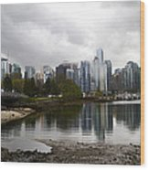 Vancouver Wood Print