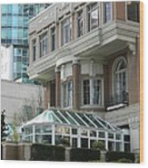 Vancouver Architectural Heritage Wood Print