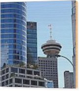 Vancouver Architecture 2 Wood Print