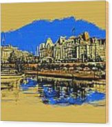 Vancouver Art 001 Wood Print