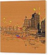 Vancouver Art 006 Wood Print