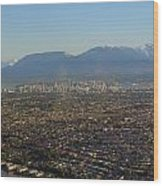 Vancouver At A Glance Wood Print
