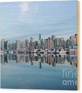 Vancouver Coal Harbour Wood Print