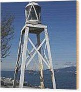 Vancouver Lighthouse Wood Print