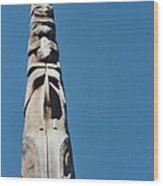Vancouver Totem By Jrr Wood Print