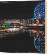 Vancouver's Magic Wood Print