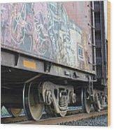 Vandalise This Wood Print by Sheldon Blackwell