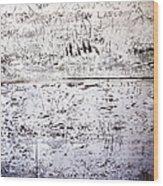 Vandalized Wood Print