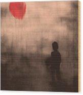 Vanishing Sun Wood Print by Bob Orsillo