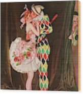 Vanity Fair Cover Featuring A Harlequin Wood Print