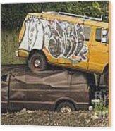 Vans Wood Print