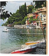 Varenna.lake Como Wood Print