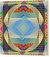 Variation On A Theme Wood Print