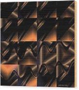 Variations In Brown Wood Print