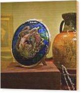 Vase At Delaware Art  Wood Print
