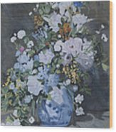 Vase Of Flowers - Reproduction Wood Print
