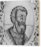 Vasily II (1415-1462) Wood Print