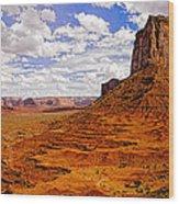 Vast Desert - Monument Valley - Arizona Wood Print