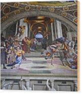 Vatican Fresco 4 Wood Print