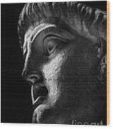 Vatican Sculpture Wood Print