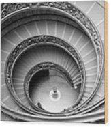 Vatican Spiral Wood Print