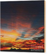 Vedauwoo Dawn Wood Print