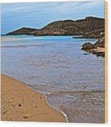 Vega Baja Beach 2 Wood Print