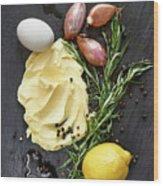 Vegetables II Wood Print