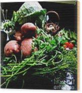 Vegetables. Still Life Wood Print