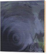 The Soft Veil Of Sleep Wood Print