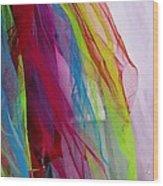 Veiled Color Wood Print