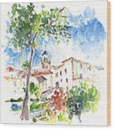 Velez Rubio Townscape 01 Wood Print