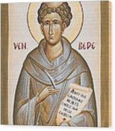 Venerable Bede Wood Print
