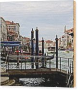 Venetian Days  Wood Print