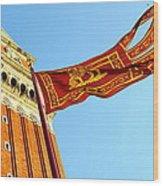 Venetian Freedom Wood Print