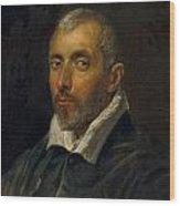 Venetian Magistrate Wood Print