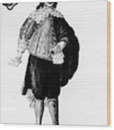 Venetian Man, 18th Century Wood Print