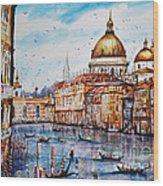 Venetian Paradise Wood Print