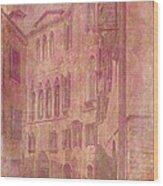Venetian Rose Water Wood Print