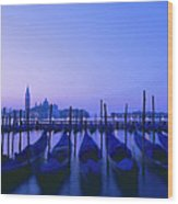 Venetian Sunrise Wood Print