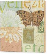 Venezia Wood Print by Debbie DeWitt