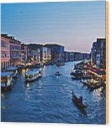 Venezia - Il Gran Canale Wood Print