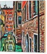 Venezia Mi Amor Wood Print