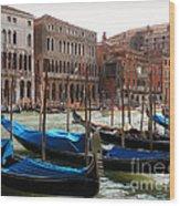 Veneziano Trasporto Wood Print