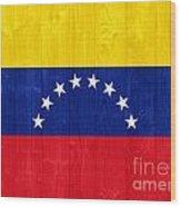Venezuela Flag Wood Print