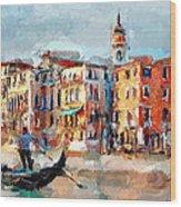 Venice 14 Wood Print