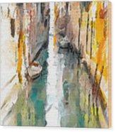 Venice Canals 0 Wood Print