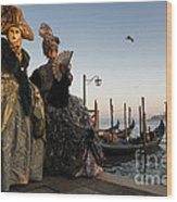 Venice Carnival '15 IIi Wood Print