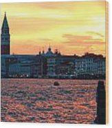 Venice Colors Wood Print